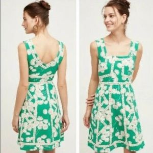 Anthropologie Maeve floral print Emma dress